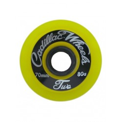 ROUES CADILLAC CLASSIC TWO 70MM 80A - YELLOW