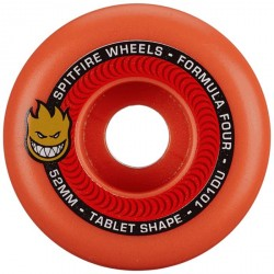 ROUES SPITFIRE FORMULA FOUR F4 101D TABLETS AUROA RED - 52MM