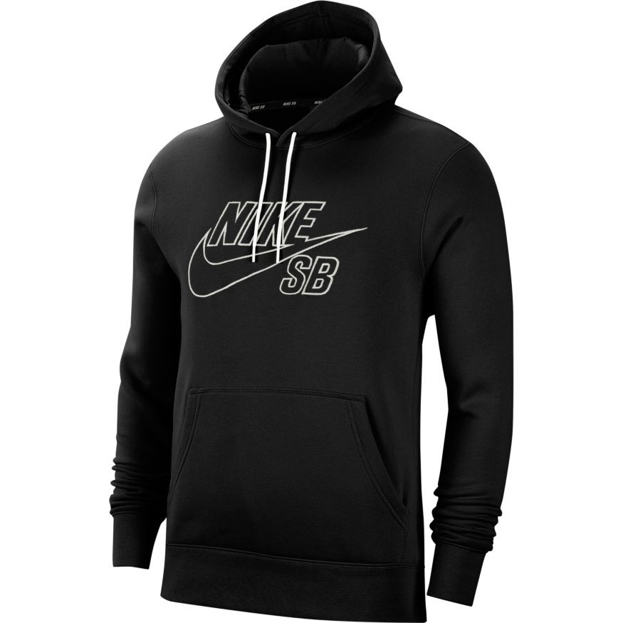 Sweat Nike Sb Pullover Skate Hoodie Black Summit White