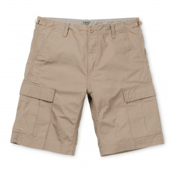 SHORT CARHARTT WIP AVIATION - LEATHER RINSED