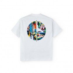 T-SHIRT POLAR MEMORY PALACE FILL LOGO - WHITE
