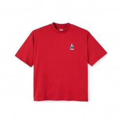 T-SHIRT POLAR SURF - CHERRY