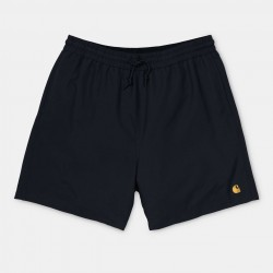 SHORT CARHARTT WIP CHASE SWIN TRUNK - BLACK GOLD
