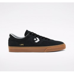 CHAUSSURES CONVERSE CONS LOUIE LOPEZ PRO OX - BLACK WHITE GUM