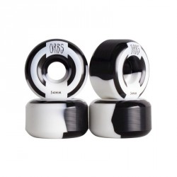 ROUES ORBS WELCOME APPARITIONS ROUND 54MM - BLACK WHITE SPLIT