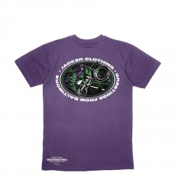 T-SHIRT JACKER BALTIMORE - PURPLE
