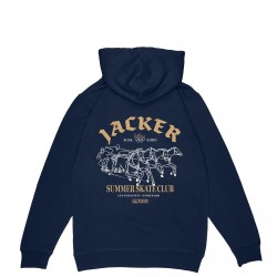 SWEAT JACKER SUMMER CLUB - NAVY
