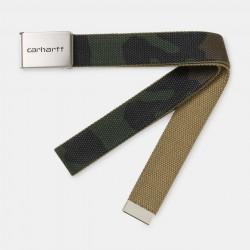 CEINTURE CARHARTT WIP CLIP BELT - CAMO LAUREL