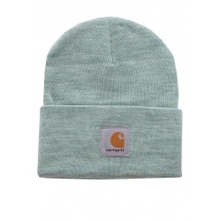 BONNET CARHARTT WIP ACRYLIC WATCH HAT - FROSTED GREEN