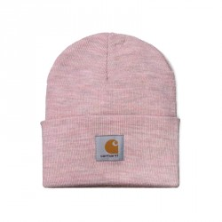 BONNET CARHARTT WIP ACRYLIC WATCH HAT - FROSTED PINK HEATHER