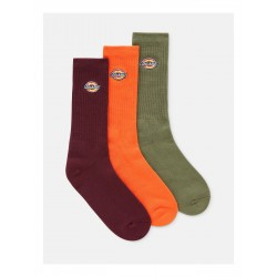 CHAUSSETTES DICKIES VALLEY GROVE (PACK DE 3) - ARMY GREEN