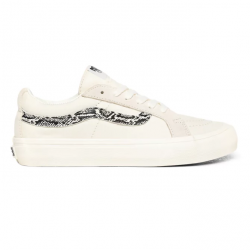 CHAUSSURES VANS SK8 LOW REISSUE - MARSHMALLOW SNAKE