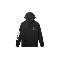 SWEAT HUF X GODZILLA TT HOOD - BLACK