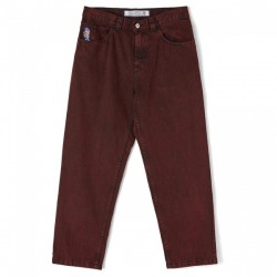 PANTALON POLAR '93 DENIM - RED BLACK