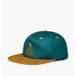 CASQUETTE THEORIES SCRIBBLE PYRAMID SNAPBACK - GREEN