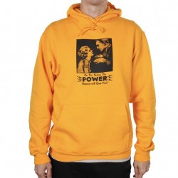 SWEAT THEORIES HYPNOTIZE HOODIE - GOLD