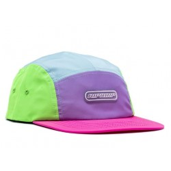 CASQUETTE RIPNDIP FLO-RES COLOR BLOCK CAMPER - MULTI
