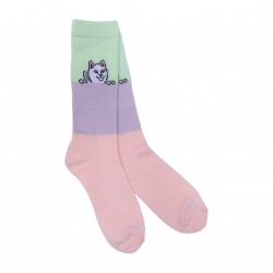 CHAUSSETTES RIPNDIP PEEK A NERMAL SOCKS - COLOR BLOCK