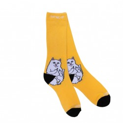 CHAUSSETTES RIPNDIP LORD NERMAL SOCKS - GOLD