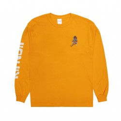 T-SHIRT RIPNDIP SPRING BREAK LS - GOLD