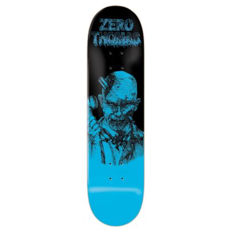 BOARD ZERO DECK ZOMBIE THOMAS BLUE 8.25