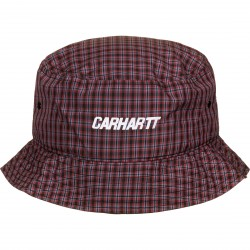 BOB CARHARTT WIP ALISTAIR BUCKET HAT - CHECK ETRA