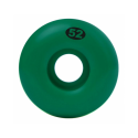 ROUES NAKED WHEELS GREEN - 52MM