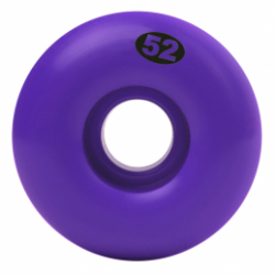 ROUES NAKED WHEELS PURPLE - 52MM