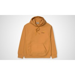SWEAT CARHARTT WIP HOODED AMERICAN SCRIPT - WINTER SUN