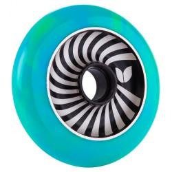 ROUE BLAZER PRO VERTIGO ALU SWIRL 100MM - GREEN BLUE