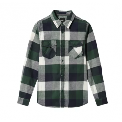 CHEMISE VANS BOX FLANNEL - PINE NEEDLE DRESS BLUE
