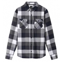 CHEMISE VANS BOX FLANNEL - WHITE DRESS BLUE