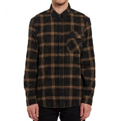 CHEMISE VOLCOM X GIRL SKATEBOARDS LS - BLACK