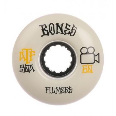 ROUE BONES ATF FILMERS 56MM 80A - WHITE