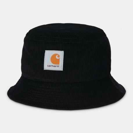 BOB CARHARTT WIP CORD BUCKET HAT - BLACK
