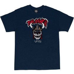 T-SHIRT THRASHER X LOTTIES - NAVY