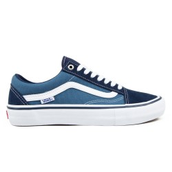 CHAUSSURES VANS OLD SKOOL PRO - NAVY WHITE