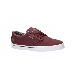 CHAUSSURES ETNIES JAMESON 2 ECO - BURGUNDY TAN WHITE