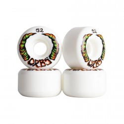 ROUES ORBS APPARITIONS ROUND 52 MM - WHITE