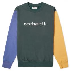 SWEAT CARHARTT WIP TRICOL CARHARTT - DARK TEAL