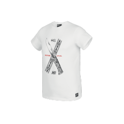T-SHIRT PICTURE ORGANIC X OPINEL - WHITE
