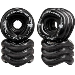 ROUES SHARK WHEELS DNA 78A BLACK - 72MM