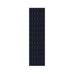 GRIP SUPERIOR PLAQUE POLKA DOT BLACK BLUE RED