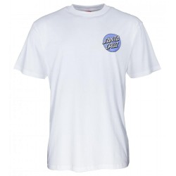 T-SHIRT SANTA CRUZ ROB DOT 2 - WHITE