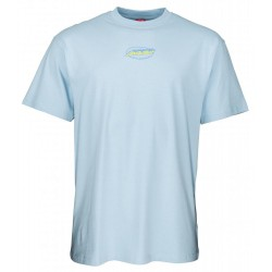 T-SHIRT SANTA CRUZ COSMIC CAT STRIP - POWDER BLUE