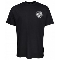 T-SHIRT SANTA CRUZ O'BRIEN REAPER - BLACK