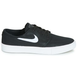 CHAUSSURES NIKE SB JANOSKI CANVAS RM - BLACK WHITE THUNDER GREY