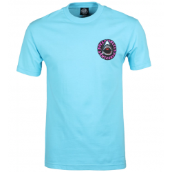 T-SHIRT SANTA CRUZ SPEED WHEELS SHARK - PACIFIC BLUE