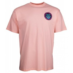 T-SHIRT SANTA CRUZ SPEED WHEELS FACES - PINK