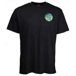 T-SHIRT SANTA CRUZ DOPE PLANET FADE - BLACK